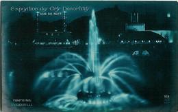 105. Exposition Des Arts Decoratifs - Vue De Nuit - Fontaine Vedovelli - Tentoonstellingen