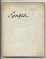 Authentique Carte Entoilée ( FELSING à DARMSTADT ) Langen, Waldorf, Moerfelden, Erzhausen, Neu Ysenburg, Ditzenbach,... - Geographical Maps