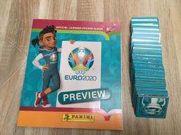 ALBUM PANINI EURO 2020 COMPLET - Edición Francesa