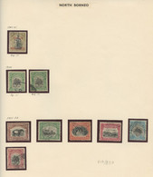 NORTH BORNEO, Used, Miscellaneous, Lot From 1901 To 1961   (Lot 837) - 5 Scans - North Borneo (...-1963)