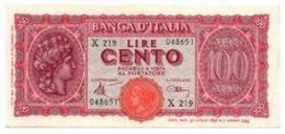 Italia - 100 Lire 1944 - Turrita - 100 Lire