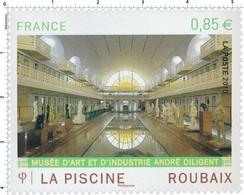 Timbre Neuf France MNH 2010 : La Piscine, Musée De Roubaix - Ongebruikt