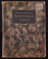 Album Ancien SCHWANEBERGERS - Monde Entier Du Début à 1904 - Avec Catalogue Des Cotations De L'époque - Bon état Général - Collections (with Albums)