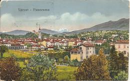 VARESE - PANORAMA RAVVICINATO - FORMATO PICCOLO - VIAGGIATA 1917 - Vedi TIMBRO MILTARE !! - (rif. I07) - Varese