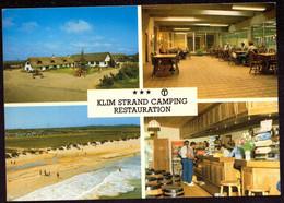 AK 000659 DENMARK - Fjerritslev - Klim Strand Camping Restauration - Danimarca