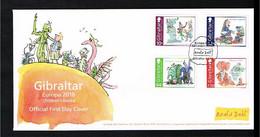 2010 - Europe CEPT FDC Gibraltar - Childbooks - Cancel Gibraltar [VD003] - 2010