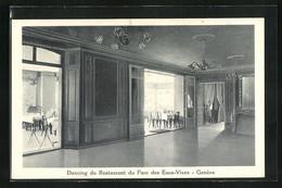 AK Geneve, Eaux-Vives, Dancing Du Restaurant Du Parc, Innenansicht - GE Genf