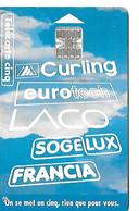 Telecarte 5 Unites Sogedis  Sotteville Les Rouen Podium, Curling, Eurotech, Sogelux, Francia 7000 Exemplaires 12/95 - 5 Unités