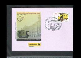 2013 - Europe CEPT FDC Germany - Postal Vehicles - Issue Deutsche Post - Cancel Essen [VT020] - 2013