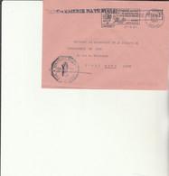 Z1 - Enveloppe Brigade  Gendarmerie  DARNEY -   En Franchise - - Bolli Militari A Partire Dal 1940 (fuori Dal Periodo Di Guerra)