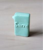 Fève Boîte Sucre En Poudre Bleue - Pour Faire Une Pâtisserie - Cuisine Picard - Sonstige