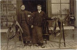 CPA  - PONTARLIER  (CARTE-PHOTO) - SELLIER - PEUT-ETRE ETS FOUCAULT - 1910 - Pontarlier