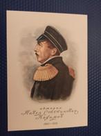 Russian Military Leader Admiral Pavel Nakhimov - OLD USSR Postcard  - Russia Against United Kingdom  - 1950 - Rusland