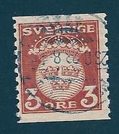 Schweden, 1920, Michel-Nr. 125, Gestempelt - Gebraucht