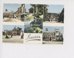 Louviers, Multivues - Rue Foch Place Thorel Chateau Hilaire Vue Ensemble N. D. Jardin Public - Louviers