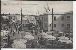 CPA 17200 ROYAN : Le Sporting-Casino - La Jabotière-Restaurant - Royan