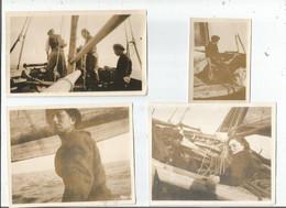 ROSCOFF Bateaux Et Pecheurs Au Depart (photos De 13x10 De Mai 1922) 15€ Les 6 - Roscoff