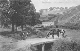 22-SAINT-BRIEUC- PONT RUSTIQUE SUR LE GOUËDIC - Saint-Brieuc