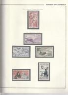 AOF 1947 à 1958 Entre N°11 Et 21 PA Neuf* Et Obl - Unused Stamps