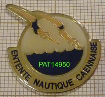 NATATION ENTENTE NAUTIQUE CAENNAISE NATATION  CAEN  Dpt 14 CALVADOS En Version EPOXY - Nuoto