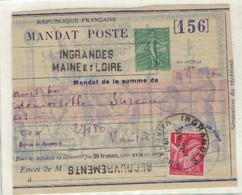 FRANCE - Mandat Lettre 1 PARTIEL - Sonstige