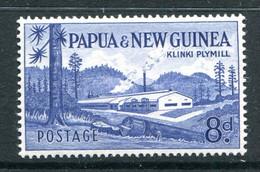Papua New Guinea 1958-60 Pictorial Definitives - 8d Klinki Plymill LHM (SG 21) - Papua New Guinea