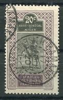RC 19937 HAUT SÉNÉGAL ET NIGER N° 24 BAMAKO BELLE OBLITÉRATION DE 1920 TB - Oblitérés