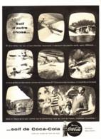 "PUB    "" COCA COLA  ""  1959  ( 26 ) - Affiches Publicitaires"