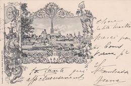 4838  111  Abbildung Wien 1483. Geschickt 25-11-1897 - Ohne Zuordnung