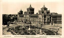 Valladolid Jardines De Zorrilla Y Academia De Caballeria Castilla Y León. España Spain - Valladolid