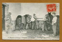 """CAMP DE CHALONS-SUR-MARNE  (51) : """" LA FORGE """" - Camp De Châlons - Mourmelon"""
