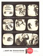 "PUB    "" COCA COLA  ""  1959  ( 28 ) - Affiches Publicitaires"
