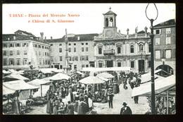 Udine Piazza Del Mercato Nuovo E Chiesa Di San Giacomo Animato 1917 - Udine
