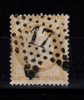 Ceres - YV 59 Etoile 17 De Paris TTB Pas Aminci Cote 9 Euros - 1871-1875 Ceres