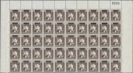 Aden - Kathiri State Of Seiyun: 1966, Overprints 5f. On 5c. Brown With BLACK Surcharge Instead Of Bl - Yemen
