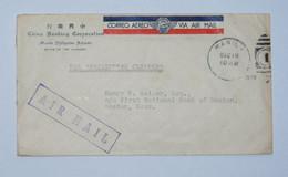 Vol De Manille à San Fransisco Par Le China Clipper En 1935 - Philippinen
