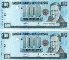 NICARAGUA 2006 100 Cordoba - P.199 Neuf -UNC - Nicaragua