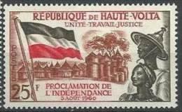 "Hte-Volta YT 92 "" Proclamation De L'Indépendance "" 1960 Neuf** - Obervolta (1958-1984)"