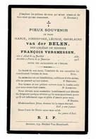 AALST / PARIS - Marie Joséphine VAN Der BELEN - Douairière François VERSMESSEN - °1837 En +1905 - Obituary Notices