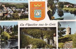 72. LA CHARTRE SUR LE LOIR . MULTIVUES. CHATEAU DE LA CHENUERE. LES CAVES..... ANNEES 50 COULEUR - Andere Gemeenten