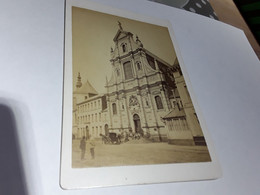 GRANDE PHOTO ORGINALE AFMETINGEN 16 CM  OP 11 CM LUIK LIEGE BELGIË BELGIQUE - Old (before 1900)