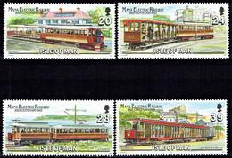 Isle Of Man - Mi-Nr 542/545 Postfrisch / MNH ** (H1028) - Tramways