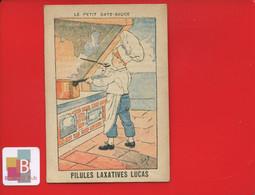 Pilules Laxatives Lucas Chromo Image Illustrateur JOB PETIT GATE SAUCE   Marmiton Cuisinier Cuisine  Ministre Interieur - Sonstige