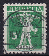 125 III Mit Perfektem Vollstempel COUVET - 08.05.1912 - Nuevos