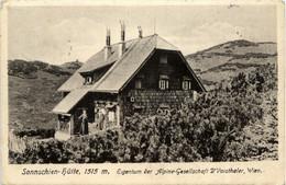 Hochlantsch/Steiermark Und Umgebung -         Sonnschienhütte, Eigentum Der Alpine Gesellschaft D-Voisthaler, Wien - Unclassified