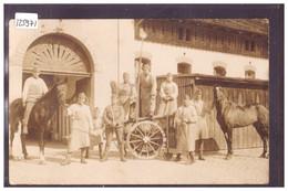 ARMEE SUISSE - MILITAIRE - STALLWACHE 1932 -  PHOTO: FREUDIG, AARAU - TB - Autres
