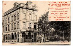 Uccle: Café Lemaire- à La Vue Des Avenues - Ukkel - Uccle