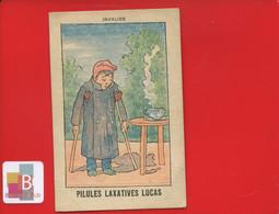 Pilules Laxatives Lucas Chromo Image Illustrateur JOB ? Invalide Handicap Prothese - Sonstige