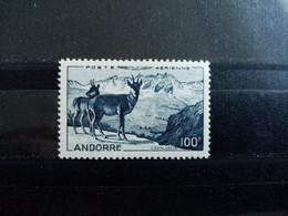 ANDORRE.1950.  Poste Aérienne N°1 . NEUF SANS Charnière.   Côte YT 2020 : 110,00 € - Poste Aérienne