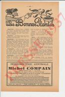 Publicité 1937 Herboristerie Michel Compain Limoges Accordéon Maugein Tulle Baromètre Pratique Parapluie 241/21 - Unclassified